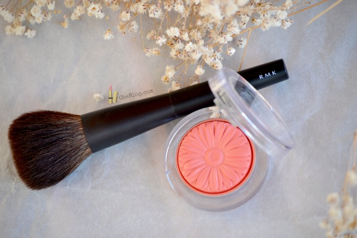 Cheek_Blush_Clinique_Pop_Peach_ObeBlog_RMK_blush_Brush_02
