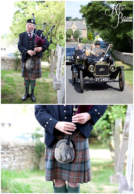 bagpiper, bagpipes at wedding, whitley chapel, st helens church wedding, whitley chapel wedding, curly farmer, katie byram photographer, one digital image, northumberland wedding photographer, wedding wellies, wedding jewellery