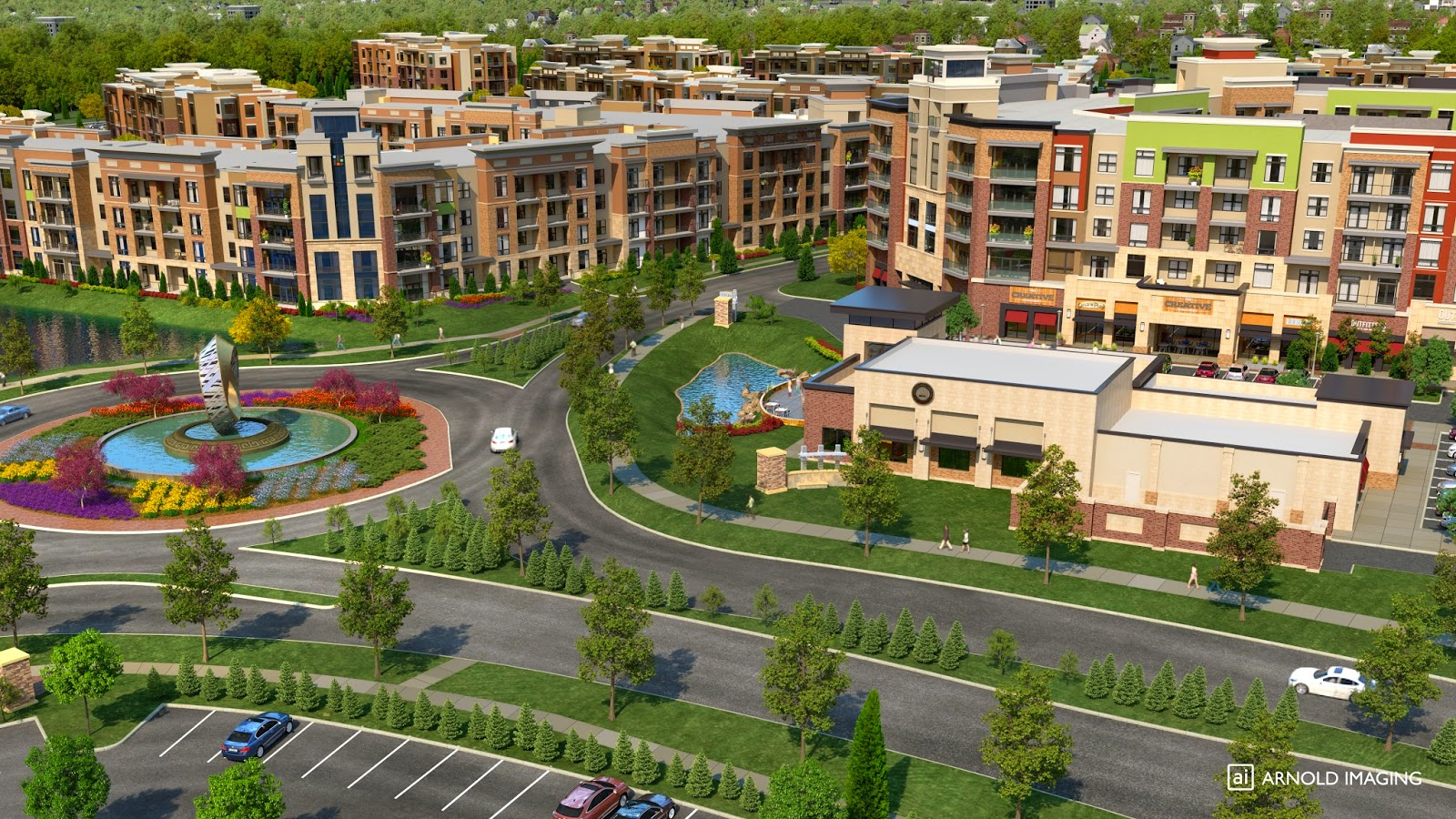 CityPlace Mixed Use Development Overland Park. KS