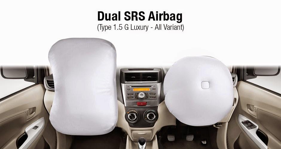 Dual AirBags Sistem Avanza 2015