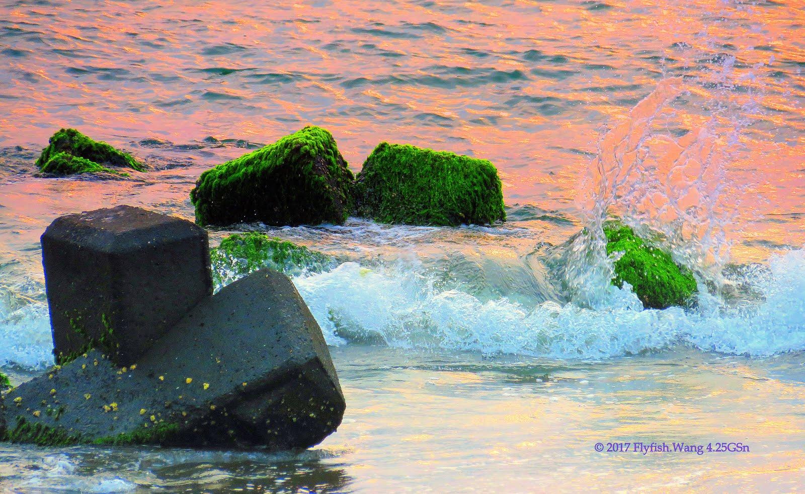 【台南東區。春季黃金海岸獵影2017】04.25GSM - 海潮與夕彩的激盪 27°c