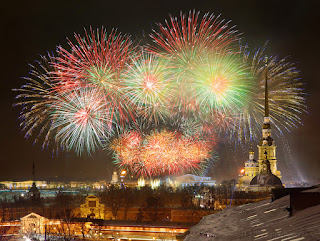 Салют над Петербургом