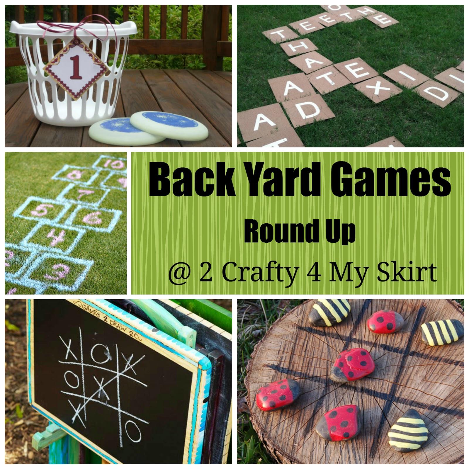 2 crafty 4 my skirt round up back yard games