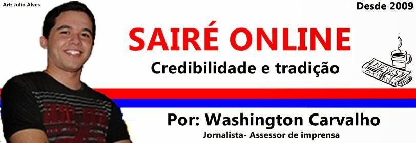 SAIRÉ Online -  Notícias Online - Notícias de Sairé