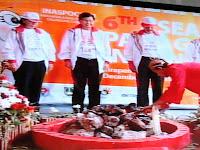 ASEAN Para Games, Mrapen, Api obor, Karangrayung, Kecamatan, Grobogan, Godong