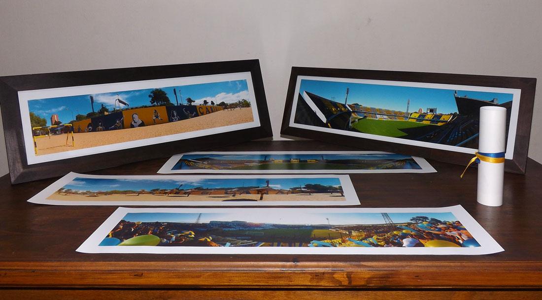 Bastidores de madera para fotos panoramicas 88