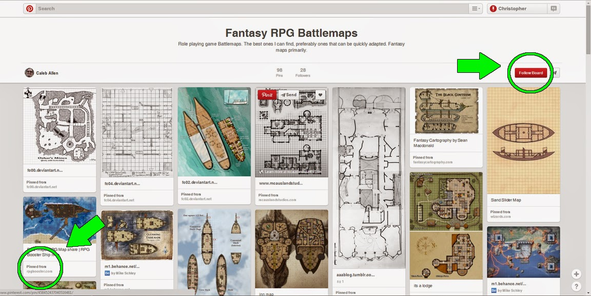 Fantasy Battlemaps Board on Pinterest