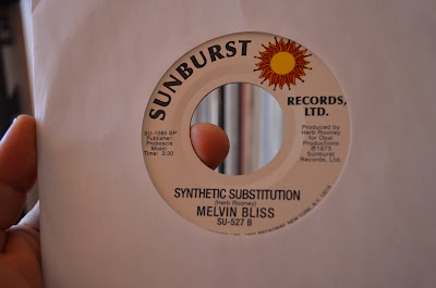 Melvin Bliss – Reward / Synthetic Substitution  1973 (Sunburst)