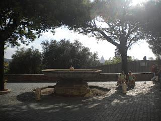 La fontana della palla di cannone
