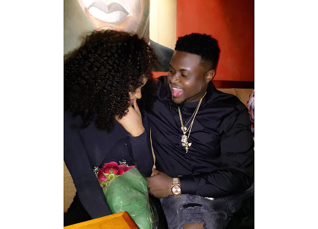 Davido's Brother Wale Adeleke Lavishes On US-based Girlfriend As Couple Flew To Dubai To Usher In The New Year (Photos)