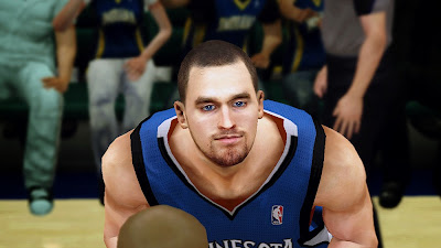 NBA 2K14 Kevin Love Cyberface Mod