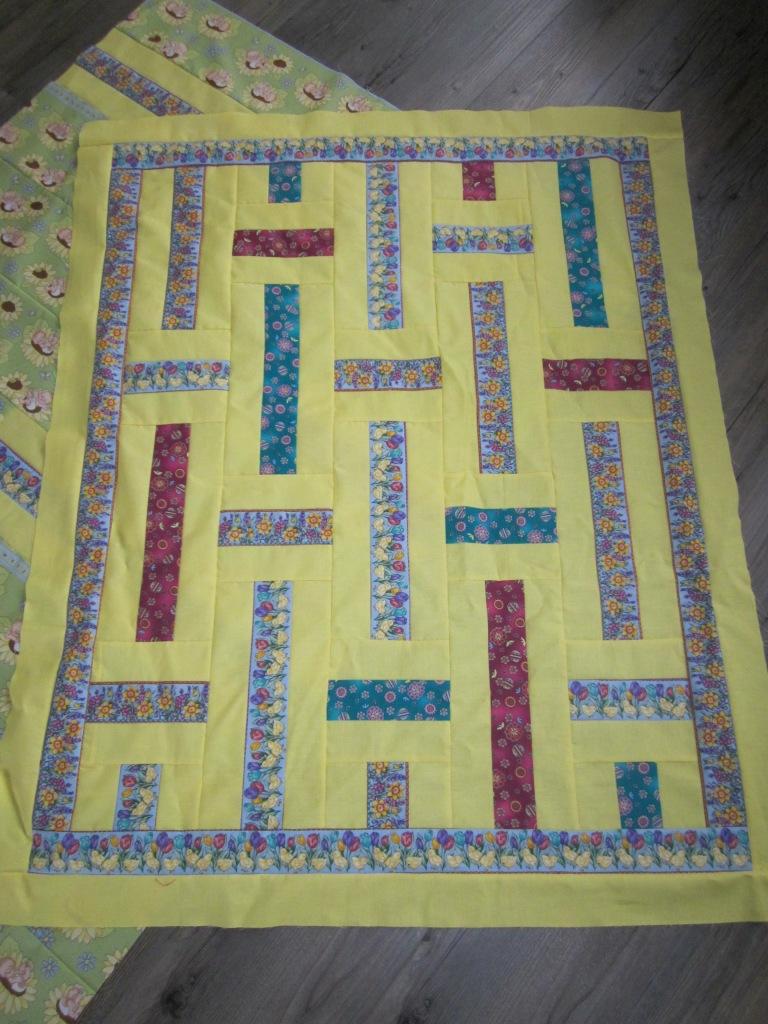Ingrid 39 s handwerken gehaakt kroontje en nog meer dromenquilts - Quilts gele ...