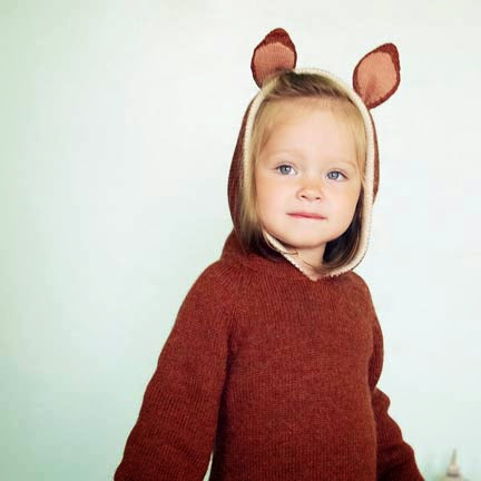 Moda Infantil Internacional: Gorritos con orejitas Oeuf
