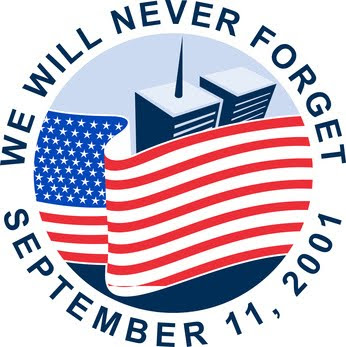 We will never forget - 9-11-2001.