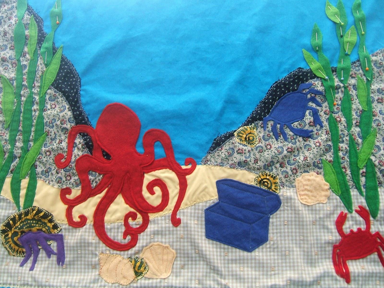 Aussie Knitting Threads Under The Sea In An Octopus 39 Garden