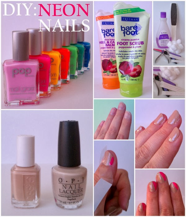 DIY: Nails in NEON!