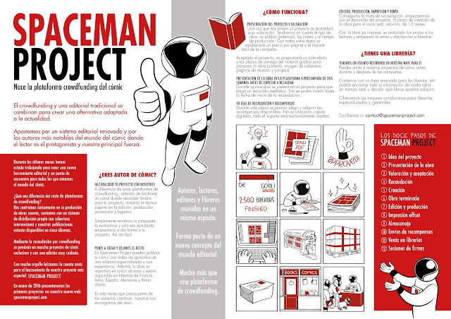 spaceman project crowdfunding comic