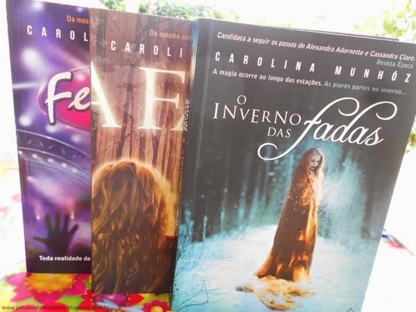 Livros, fadas, Carolina Munhóz