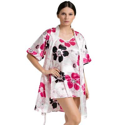 Model Kimono Baju Tidur Wanita Terbaru 2016