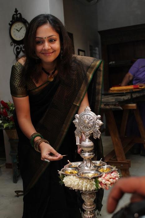 jyothika launches lakshmi sarees