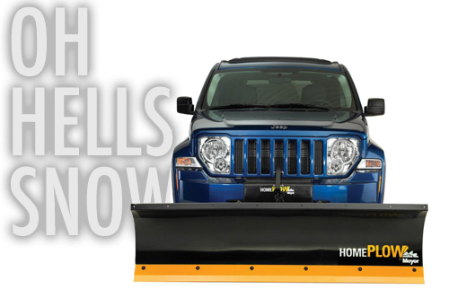 Oh hells snow! The Home Plow By Meyer