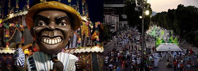 Rio de Janeiro Carnival sambadromes to dance and party