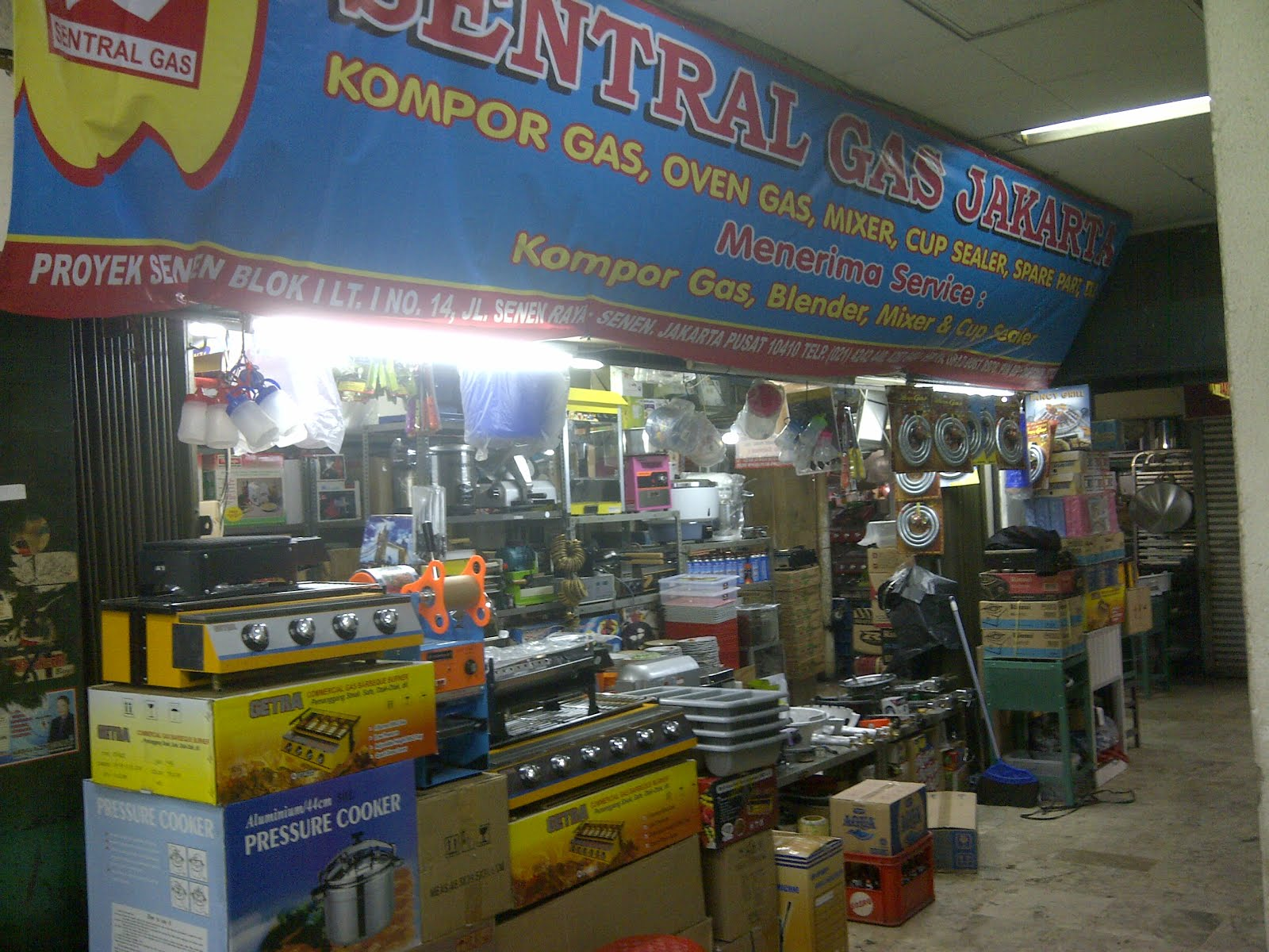 Toko sentral gas / Toko Tunas Raya