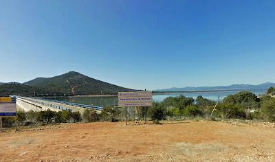 Zona de la presa La Torre de Abraham