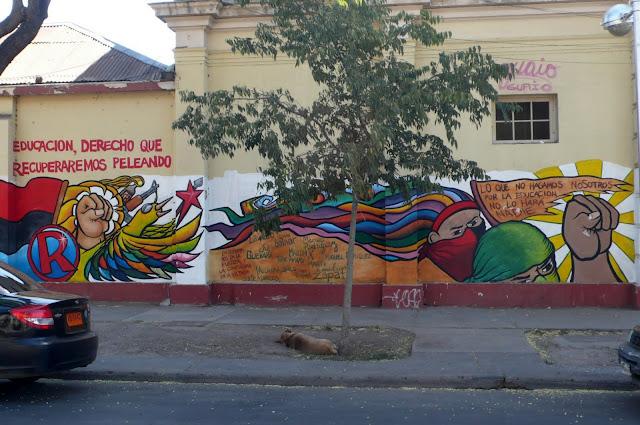 street art in santiago de chile arte callejero educación