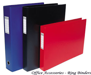 Office Accessories - Ring Binders