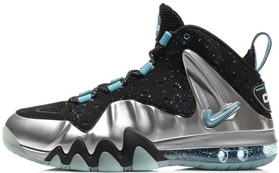 Nike Barkley Posite Max Metallic Silver/Gamma Blue-Black Release Reminder