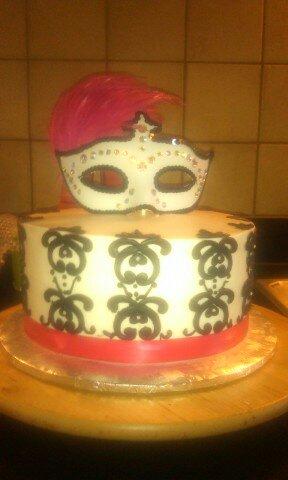 Cake Art Lawrenceville Hwy : CAFE AROMAS: Masquerade Cake