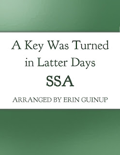 A Key Was Turned in Latter Days Free Sheet Music Arranged by Erin Guinup
