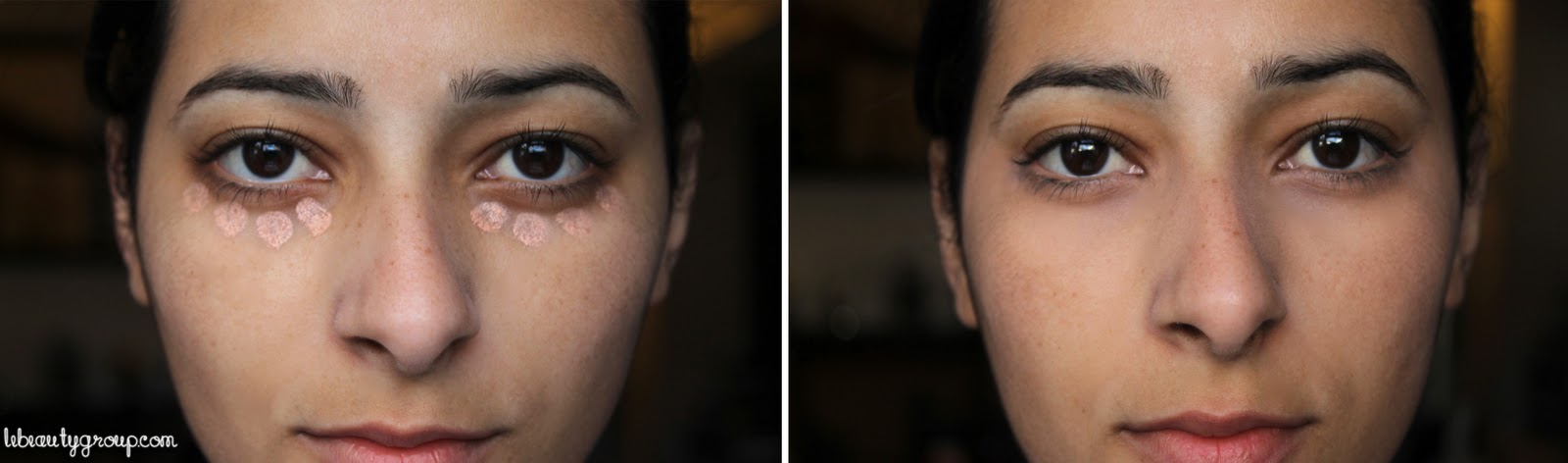 how to make bags under your eyes less visible