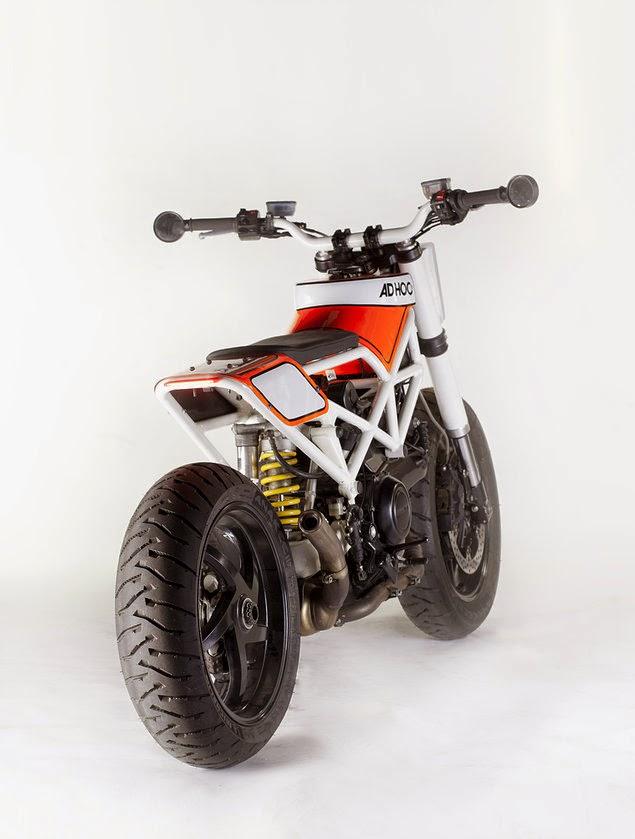 Стрит-трекер Ad Hoc Haptica на базе Ducati Multistrada