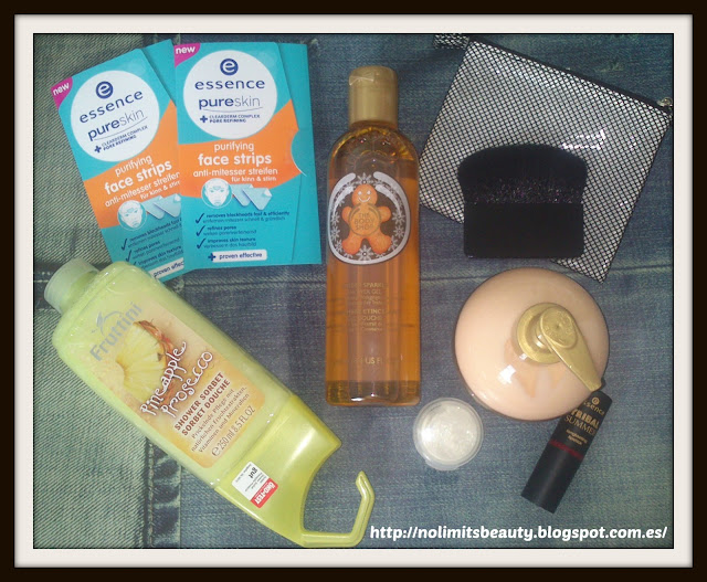 Compras Julio 2013: Mercadona, Essence, The Body Shop, Fruttini