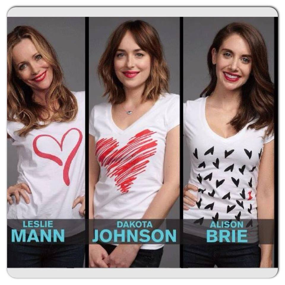 Stars Of Movie 'how To Be Single' Support 'go Red For Women'