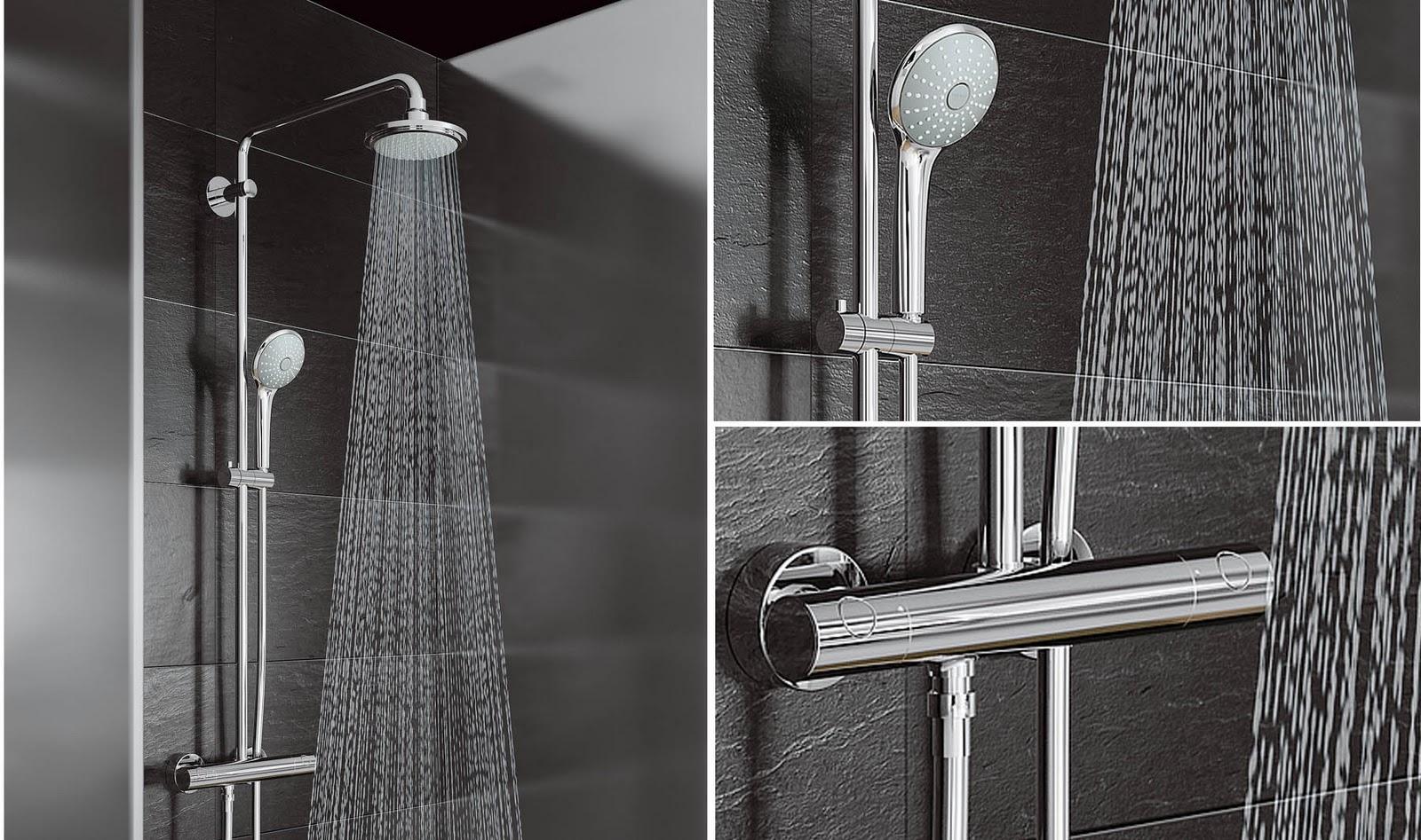 Ba os reformas cocinas ba os en valencia esteban - Griferias termostaticas para ducha ...