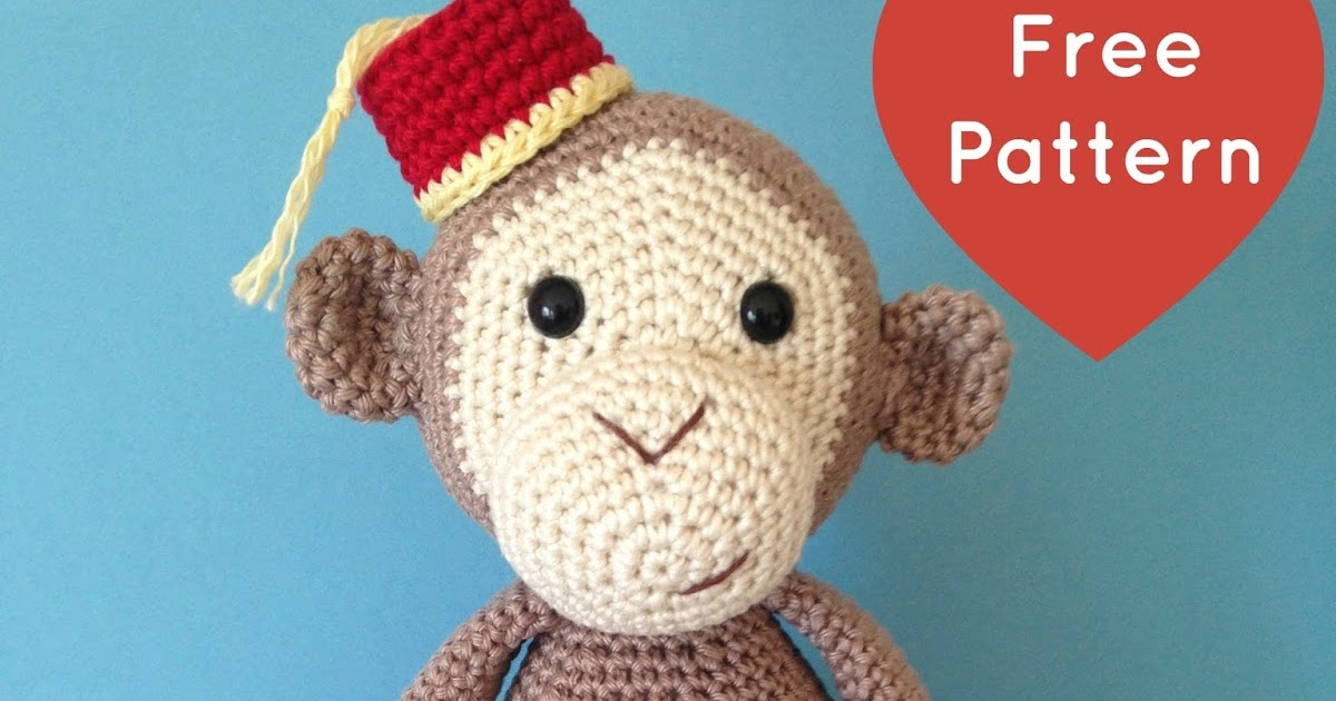 Heart & Sew: Cheeky Little Monkey - Free Crochet ...