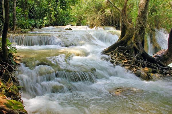 Les cascades de Kouangxi