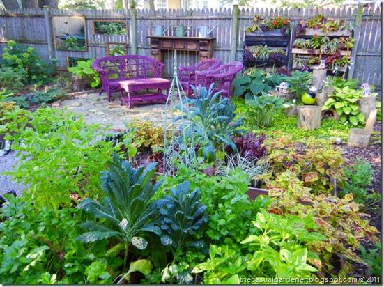 Vegans living off the land list of shade cold tolerant for French kitchen garden design