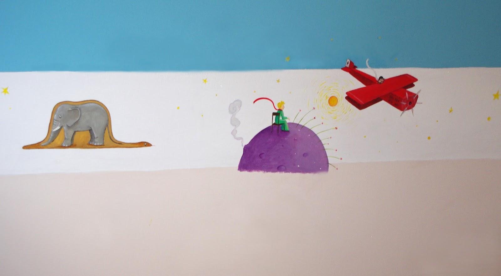 illu et cie frise murale pour chambre d 39 enfant. Black Bedroom Furniture Sets. Home Design Ideas
