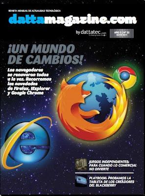 Imagen de la portada de Dattamagazine de mayo 2011