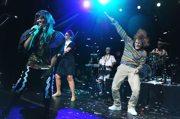 Santigold and Andy Samberg