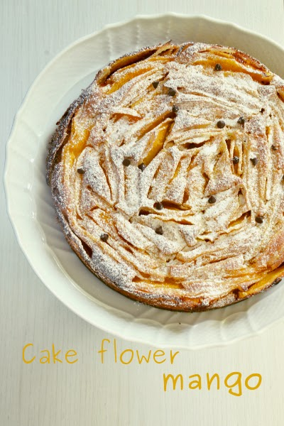 torta al mango frullato