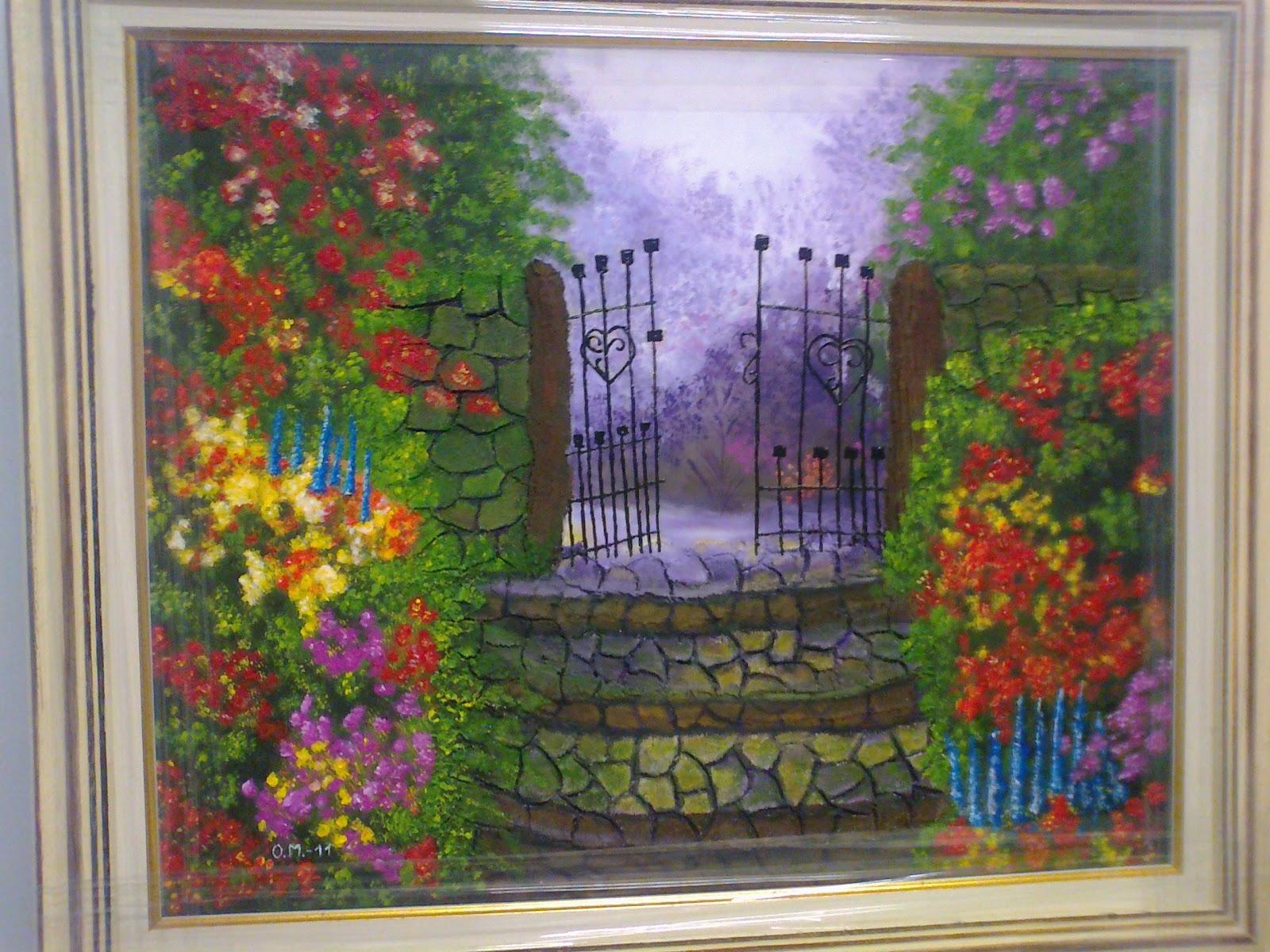 Como pintar cuadros con pinturas acrilicas como pintar for Como pintar un cuadro abstracto