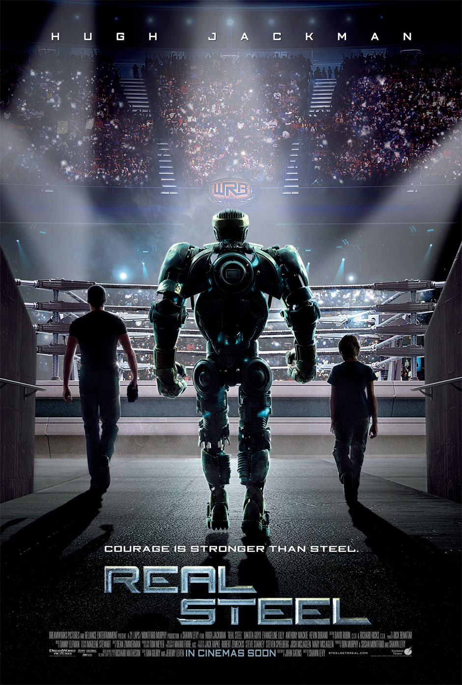 REAL STEEL (2011)- SCI-FI ACTION | MOVIE TRAILER | MOVIE WALLPAPERS