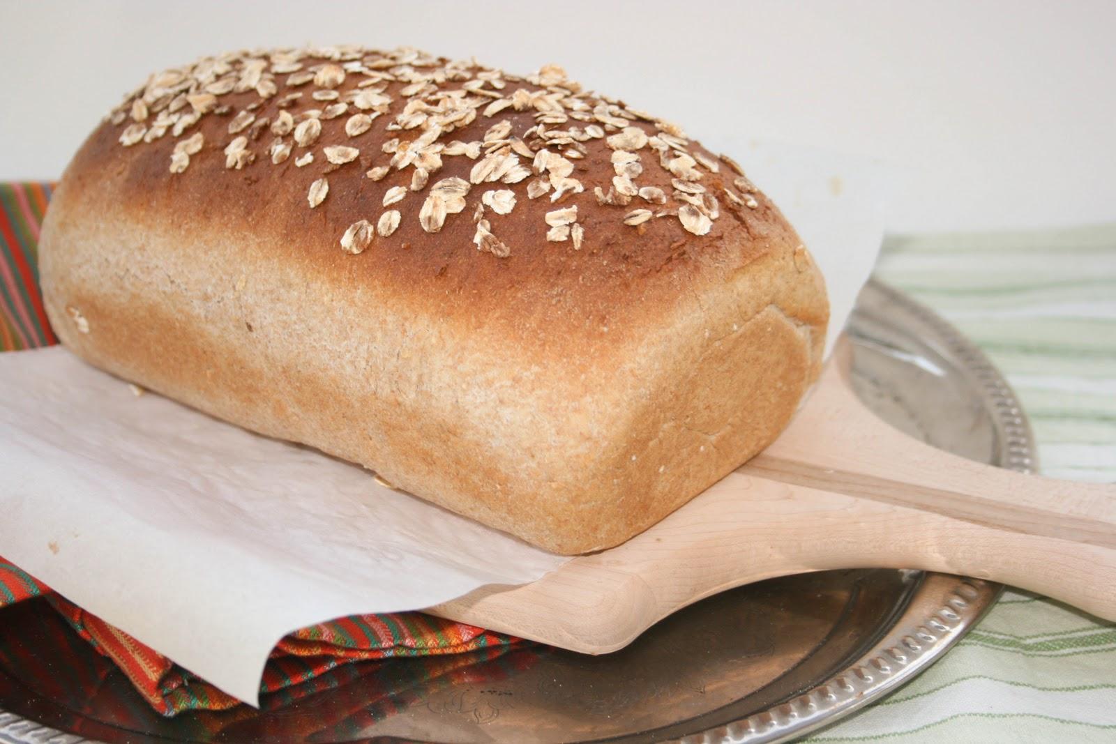 Honey Oat Wheat Bread | Krissy's Creations