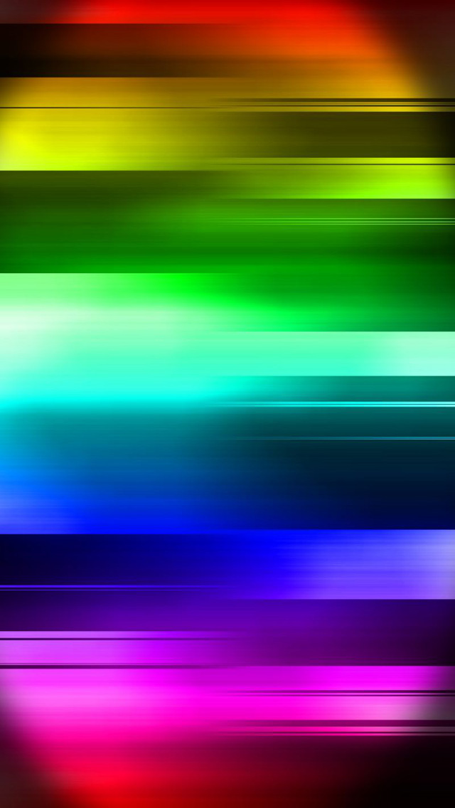 Free Download Rainbow Colors IPhone 5 HD Wallpapers