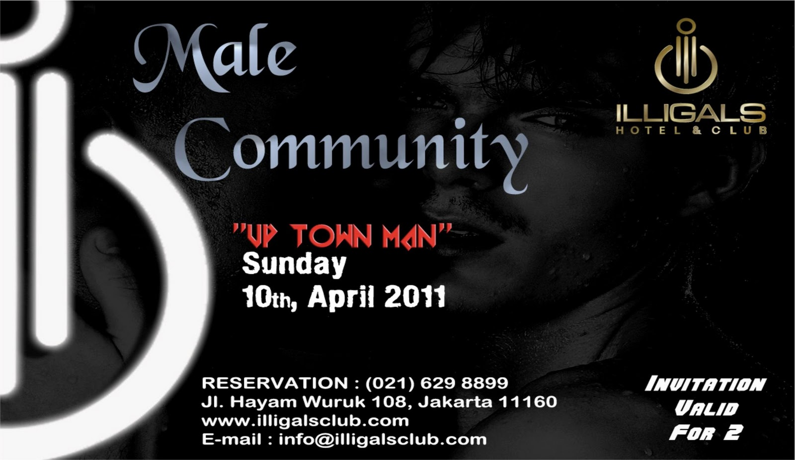 I saw that Illigals organizes some gay events on Sundays (see flyer below).